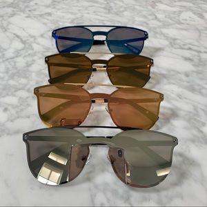 RESTOCK! 😎Spex Trendy Flat Frame Sunglasses